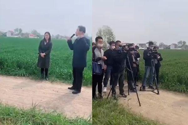 【现场视频】官员要农民有政治责任 网民骂翻