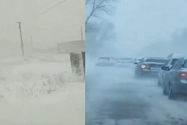 【现场视频】谷雨已过 黑龙江吉林突降大雪