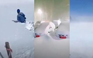 【現場視頻】齊齊哈爾降37年未見的特大暴雪