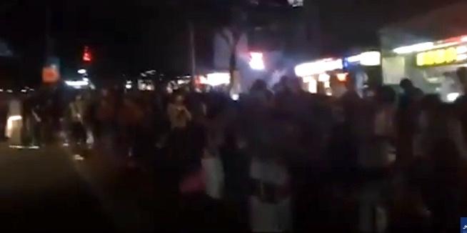 【現場影片】廣州上千人摸黑上車返鄉
