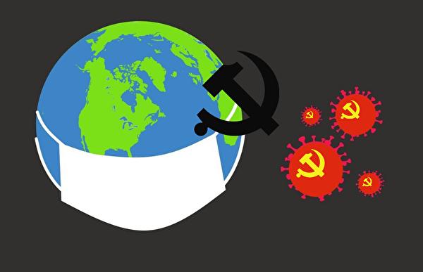 中共隱瞞疫情,導致中共病毒蔓延全球。(明慧網)
