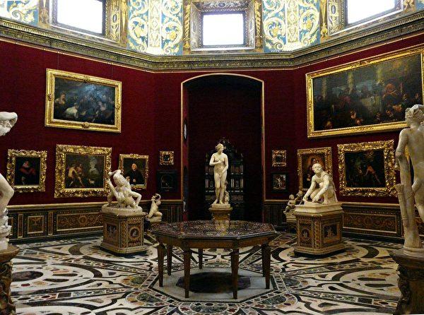 Uffizi Gallery, Florence. 。(Михаил Бернгардт/Wikimedia Commons)
