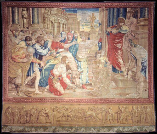 拉斐爾, 《使徒行傳》