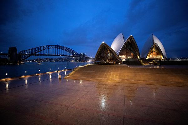 悉尼歌劇院夜景