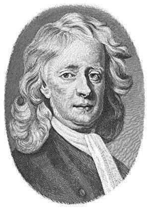Sir Isaac Newton (1642-1727) (Wikimedia Commons)
