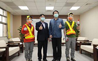 清潔員增配防護面罩 林右昌:防疫不能鬆懈