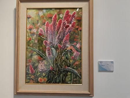 新竹縣文化局美術館展出的精采作品,內容豐富多元。