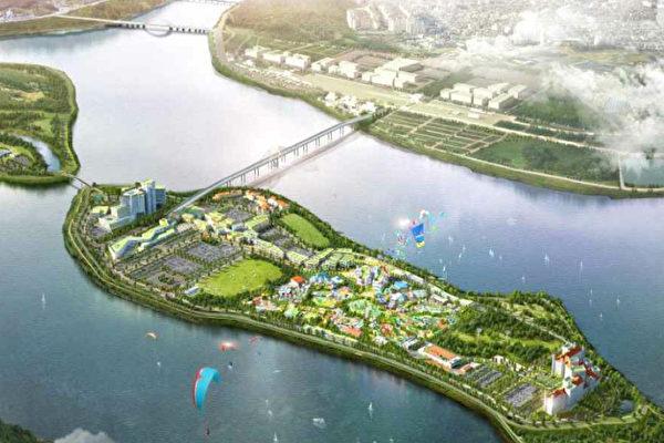 韓國江原道政府推中國城項目 破壞遺跡遭反對