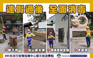 台湾各大景点拟人潮控管 50%为上限