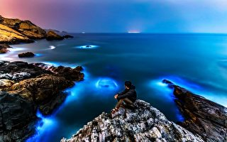 馬祖夜空現綠色極光 被指台海另類魷魚游戲