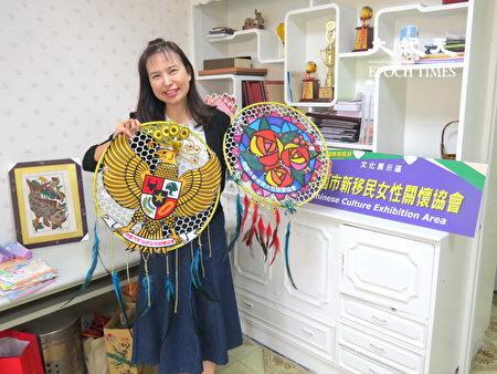杨慧青希望融合各国文化成现今的面貌,犹如多元的文化的缩影!
