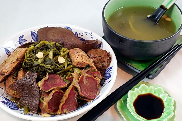 梁厨美食、西洋菜、猪横脷