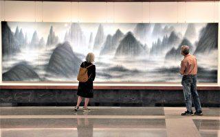 胶彩画第三代简锦清 历年精心创作盛大展出