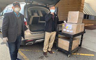 全美第二重災區  新澤西臺灣商會捐贈防護物資