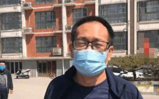 王全璋被非法關押近五年 首見謝陽律師