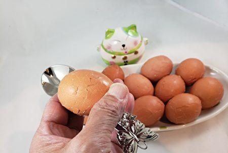 梁廚美食,茶葉蛋