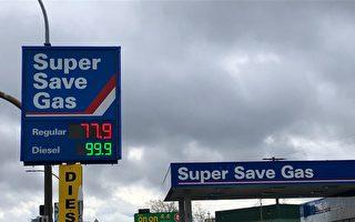 大温地区油价创新低