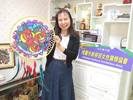 杨慧青希望新移民女性关怀协会活动创新,能更吸引人。