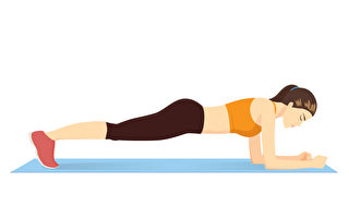 核心訓練是非常重要的訓練。6個簡單動作訓練核心肌群,在家徒手就能做。(Shutterstock)