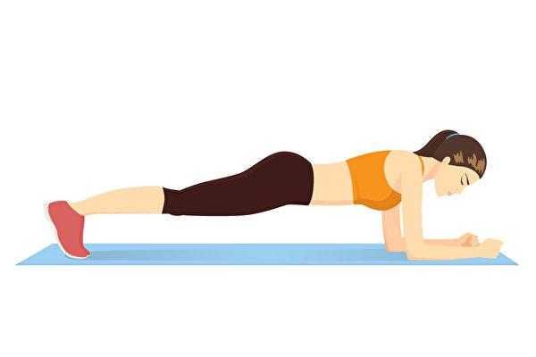 核心训练是非常重要的训练。6个简单动作训练核心肌群,在家徒手就能做。(Shutterstock)