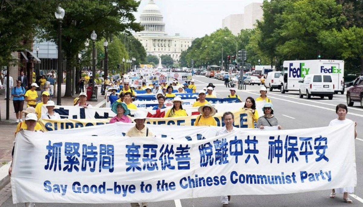中國人在瘟疫中找出路 拋棄中共才有希望