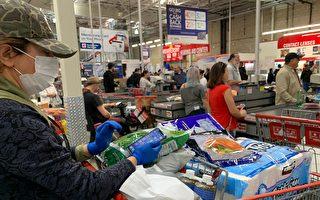 Costco限购瓶装水和卫生纸等商品