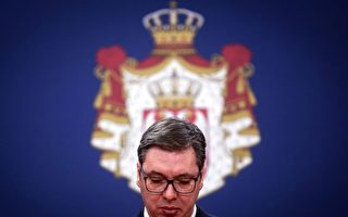 塞尔维亚总统吻五星旗后 儿子确诊患肺炎