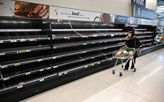 搶購、浪費和空貨架 英國農業面臨嚴峻挑戰