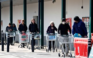 【英国疫情3·31】超市销售比圣诞节还火