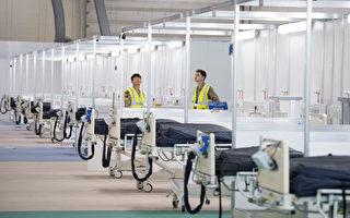 没有护士 伦敦临时医院只接40名病人