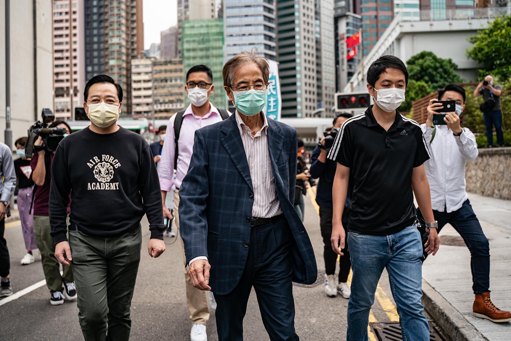 13國40社團聯合聲明 譴責香港拘捕民主人士