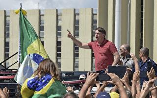 巴西民眾示威籲開放禁令 總統現身支持