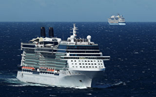 警方采取海上行动 五艘染疫邮轮驶离悉尼港
