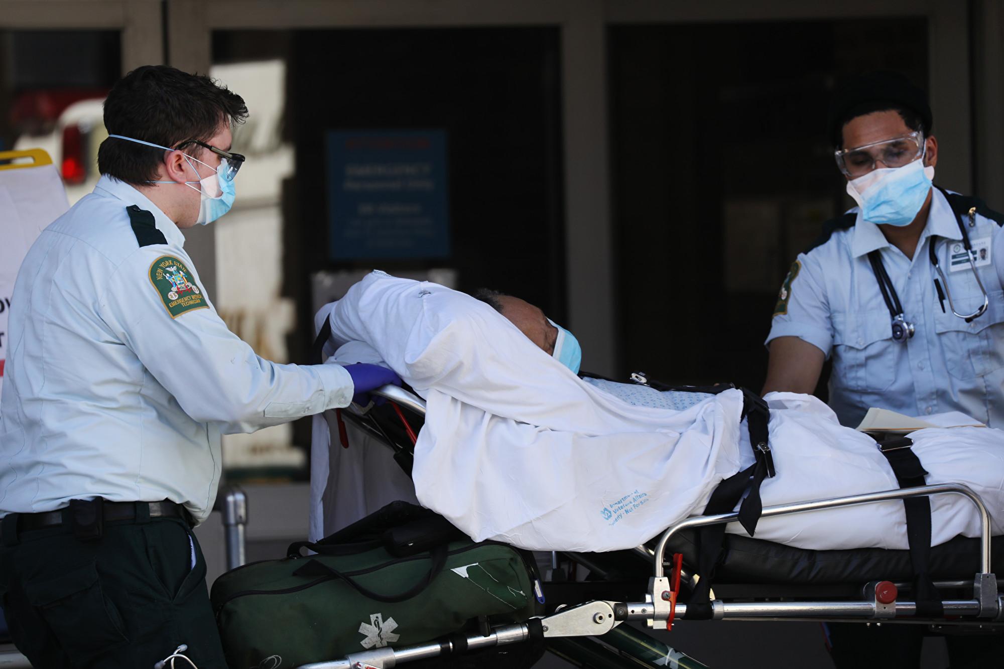 美確診病例破58萬 每日新增死亡人數下降