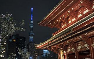 组图:疫情下的东京 街头冷清繁华不再