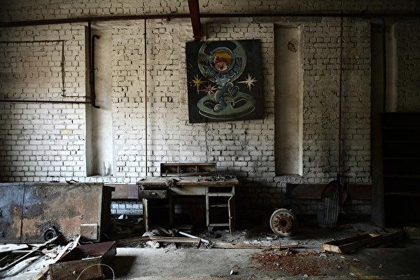普里皮亞特鎮在切爾諾貝爾核事故發生後,時間彷彿停留在1986年。(Getty Images)