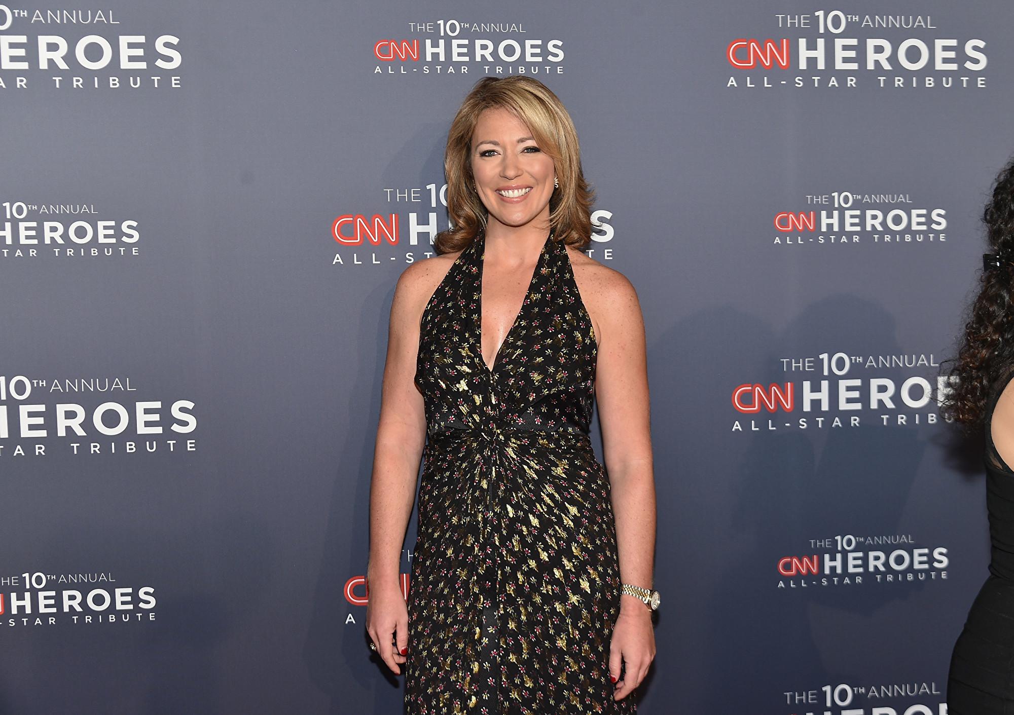 國有線電視新聞網(CNN)女主播布魯克‧鮑德溫(Brooke Baldwin)周五(4月3日)宣佈,在一天前出現症狀後,她的冠狀病毒(中共病毒)檢測呈陽性。(Mike Coppola/Getty Images for Turner)