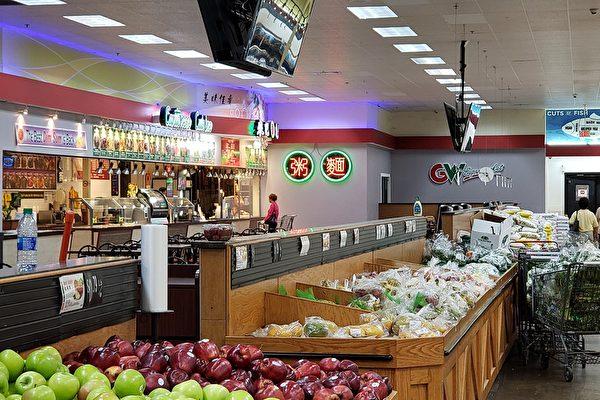 亞城華人區亞洲超市、銀行恢復營業、供應充足