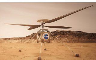 人类首架火星直升机准备就绪
