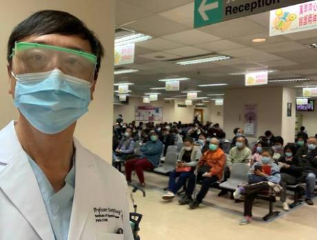 香港中文大學前校長沈祖堯教授,回憶當年SARS抗疫。(皇仁舊生會網)