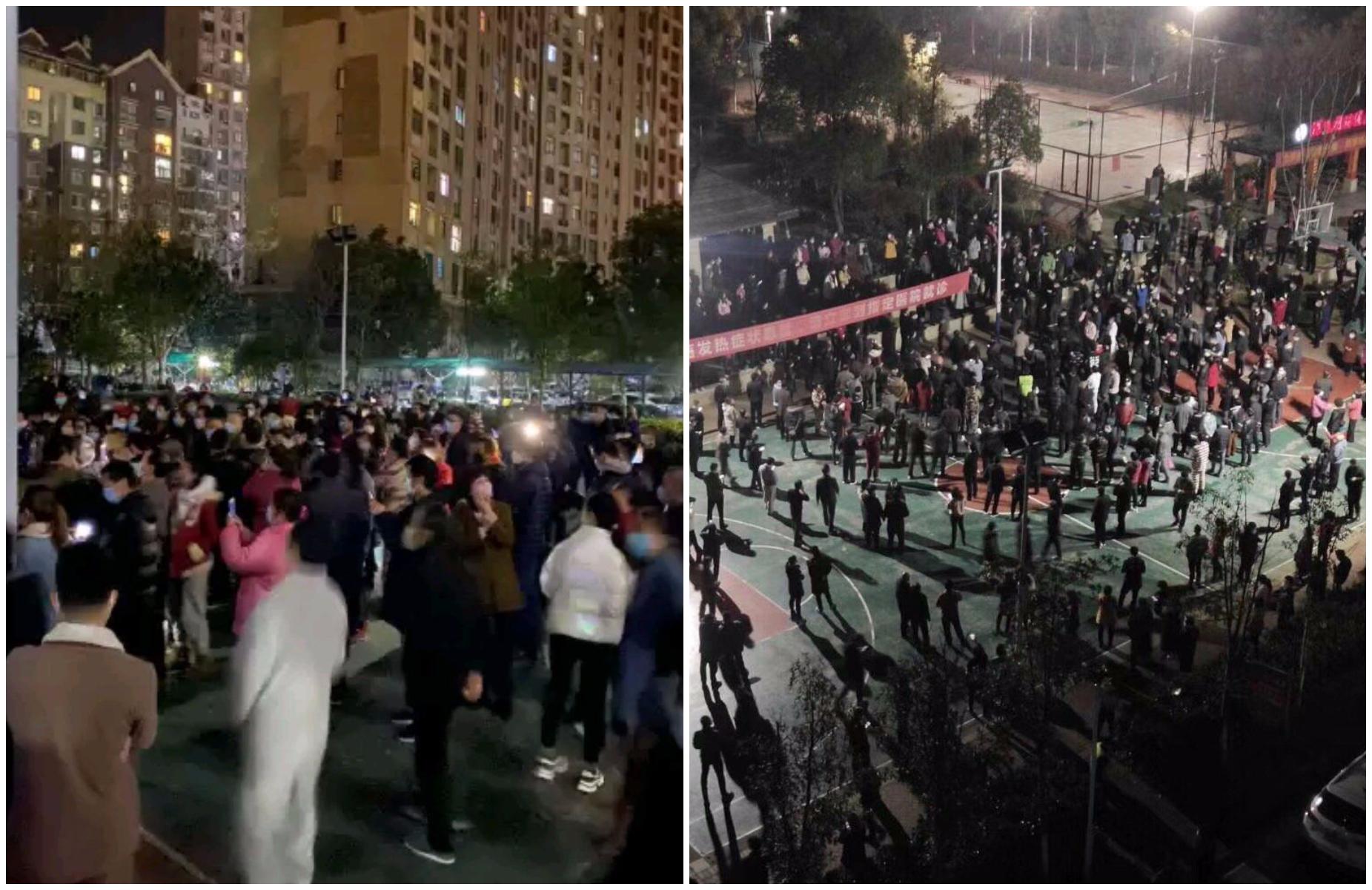 應城抗議高價菜事件 業主被捕 兒上網求救