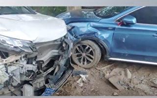 【現場視頻】武漢男子憤怒撞毀多輛車
