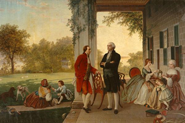 华盛顿将军系列故事:打马少年 入画江山