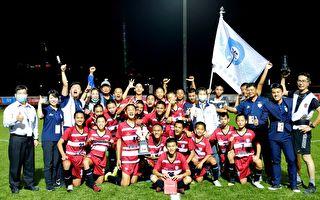 坚持不放弃  丰田国中抱回台东首座足球冠军