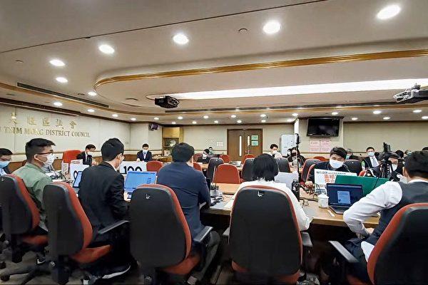 香港油尖旺区会通过重组警队议案
