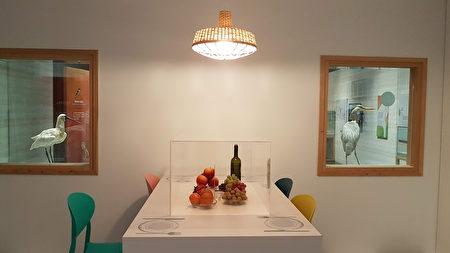 變調的未來餐桌展區,參觀者可思考各種變遷對我們日常生活的影響。