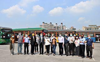 嘉市電動公車首度亮相 中山幹線六月正式上路