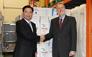 台美防疫合作 美15萬件防護衣已運抵台灣