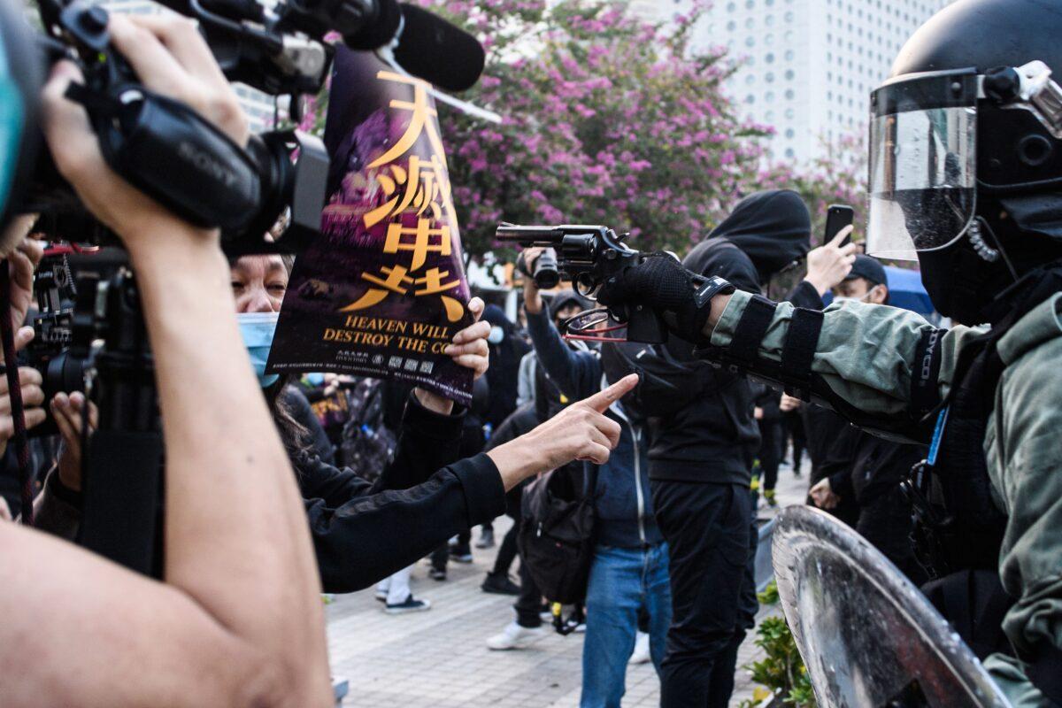 港版國安法 台朝野批中共侵害香港自由人權