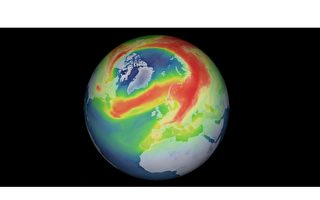 北极上空臭氧洞面积破纪录引忧